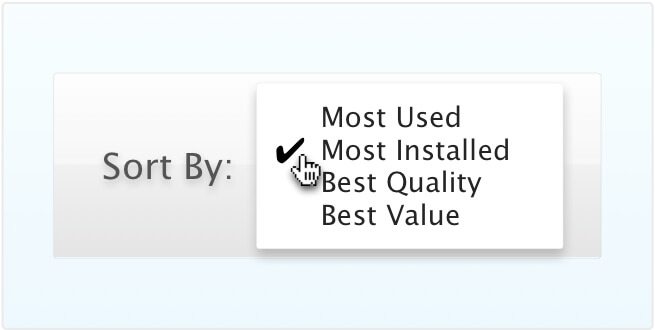 Most Installed