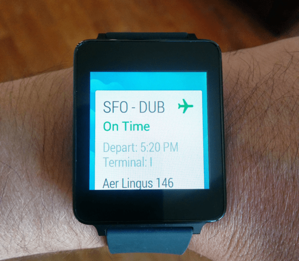 atomic units pushing content on smart watch