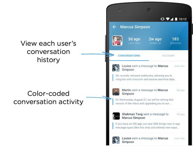 Android app improvements - Intercom