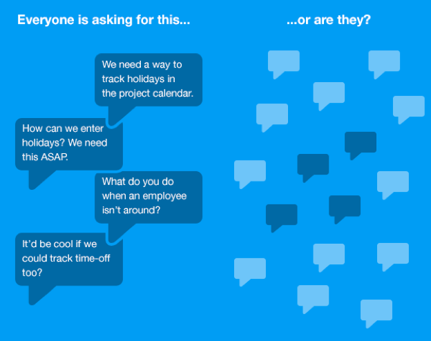 customer feedback vocal minority