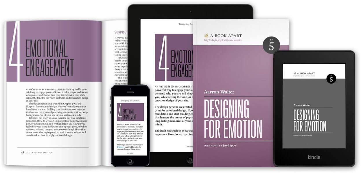 Aarron Walter's book Designing for Emotion