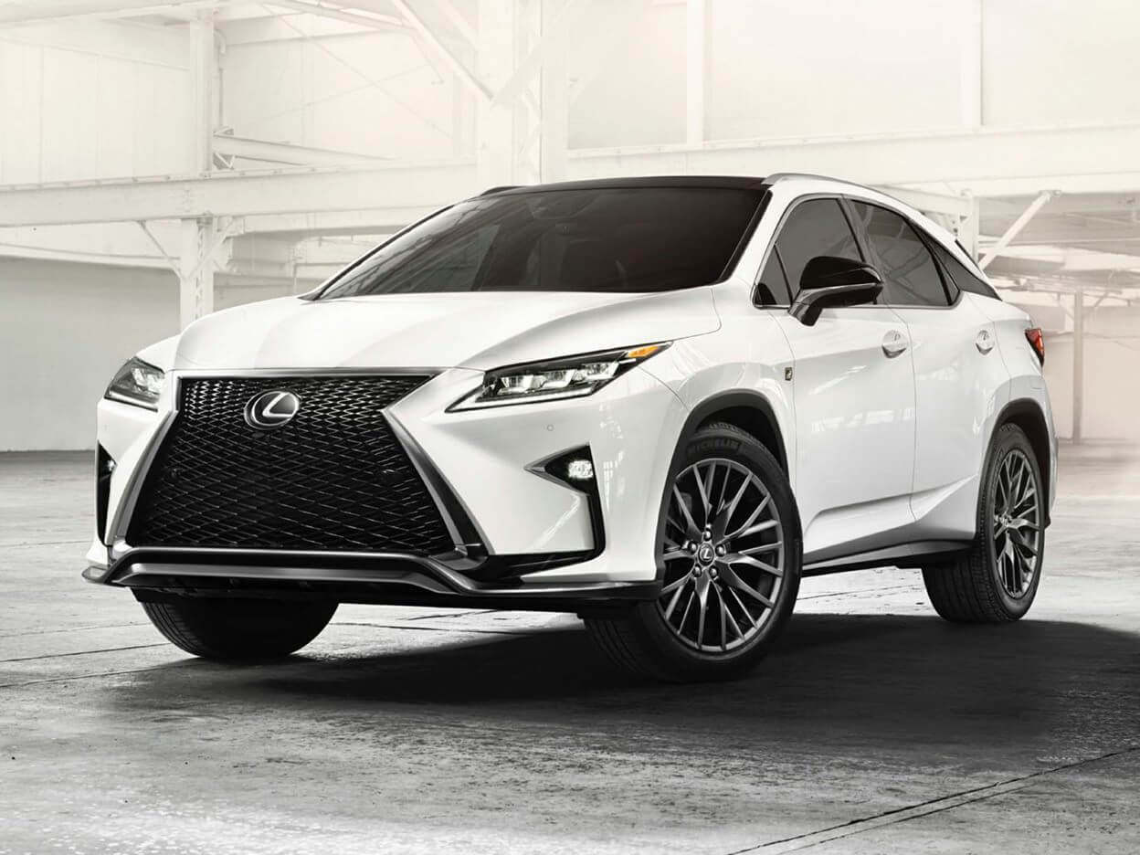A Lexus RX-350 provides a sense of status and luxury