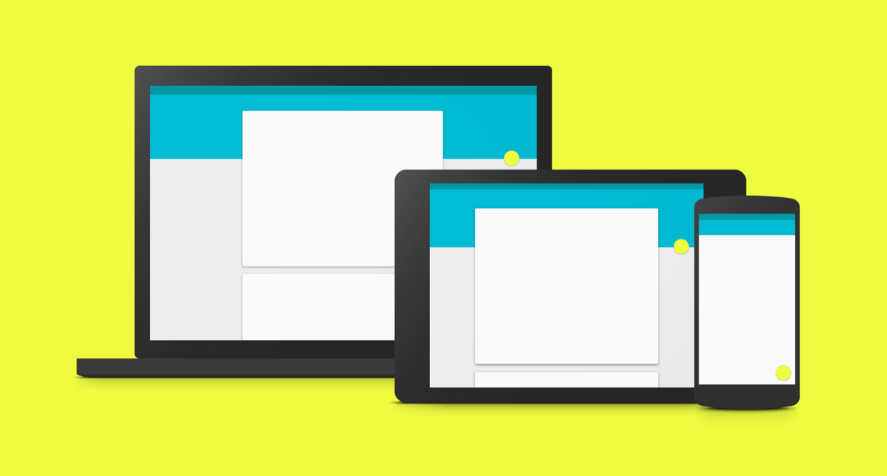 Material Design by Google, 2014