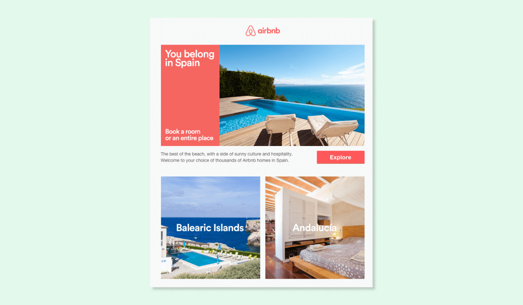 Airbnb subject line