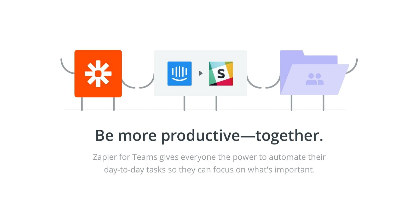 Zapier can help you get more out of Intercom