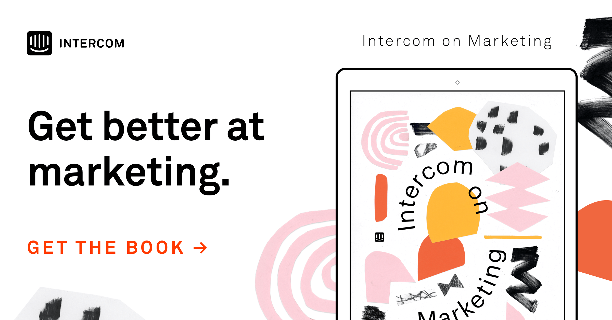 Download our book Intercom on Marketing