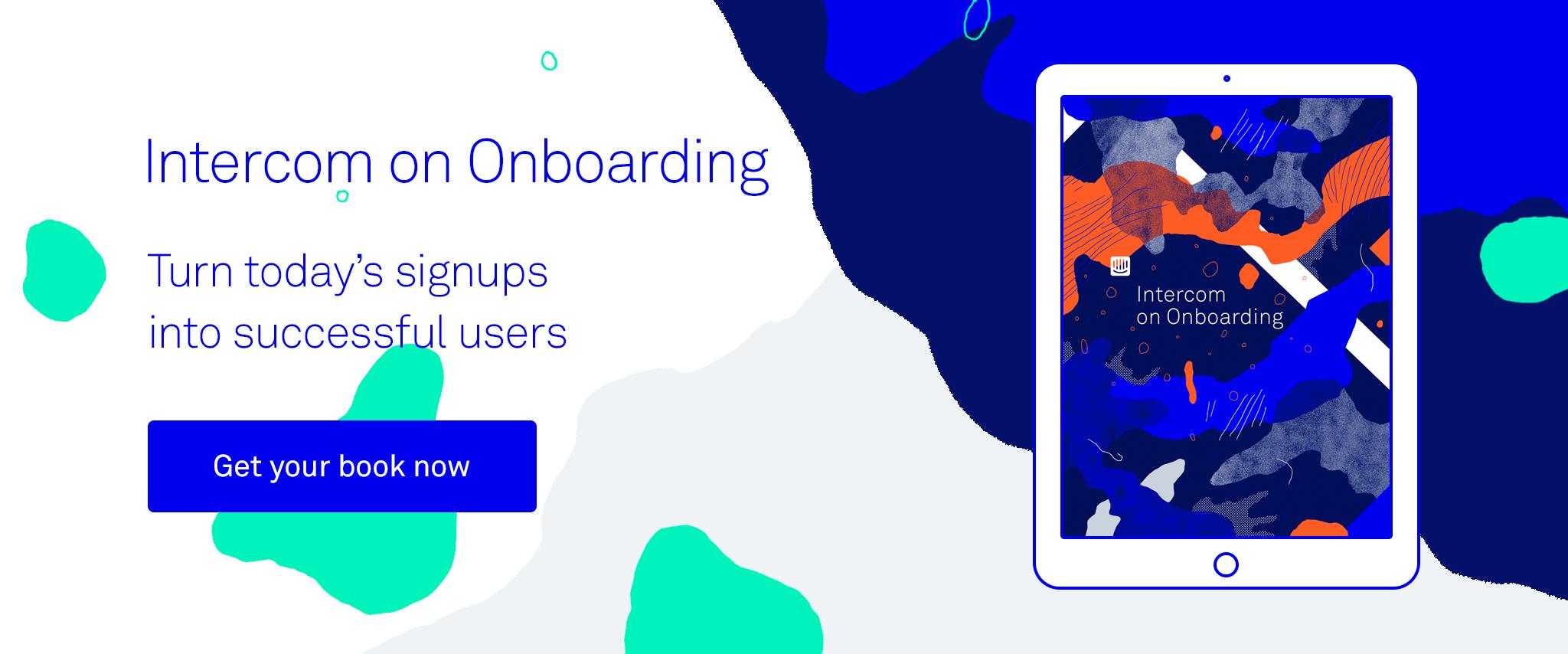 Intercom on Onboarding